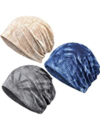Eastery Beanie Hat Deals De Damas Algodón Hat Turban Tapa Chemo Estilo  Simple Hat Bufanda Moda 84696177cae