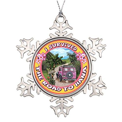 Ai Vion N. AST Dekoration Ich überlebte The Road to Hana Weihnachten Schneeflocke Ornament Ideen