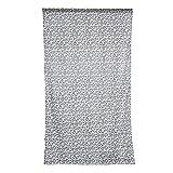 Sharplace Voile Vorhang Fenster Tüll Vorhänge Gardinenschal Transparent für Schlafzimmer Wohnzimmer, 100x200cm