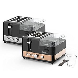 2-Scheiben-Toaster-Breakfast-Line-3in1-mit-Eierkocher-Mini-Pfanne-Steamer-Dampfgarer-Frhstcksset