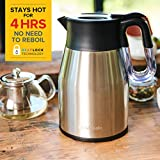 RediKettle by drew & cole, Variable Temperature Kettle, Thermal, Digital, 1.7L, Large (As Seen On High Street TV) (Charcoal)