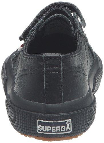 Superga, 2750-FGLVJ, Scarpe basse, Unisex - bambino Nero (Black)