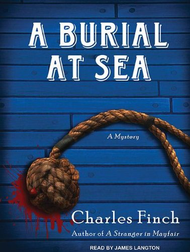 A Burial at Sea (Charles Lenox Mysteries (Audio)) (CD-Audio) - Common