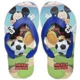 Mickey Boy's Blue Flip-Flops-13 Kids UK/India (32 EU)(MMPGFF0269)