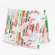 Desigual Towel Shower _ Jacq salvaje toalla de baño algodón rosa pastel 86x 160cm