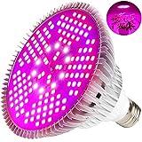 MILYN 100W LED Pflanzenlampe Vollspektrum Pflanzenlicht E27 150 Leds...