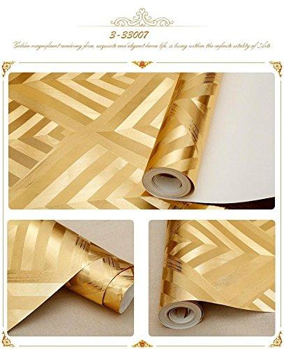 ktv-dekorative-wallpaper-3d-geometrische-muster-rotwein-kaffee-gold-flash-reflektierende-goldfolie-w