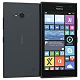 Nokia lumia 735 -8 GB Smartphone Opérateur Claro Desbloques, Windows Phone (Écran 4.7, appareil photo 6.7 MP, Quad-Core 1,2 GHz, 1 Go de rAM), gris, (Import)