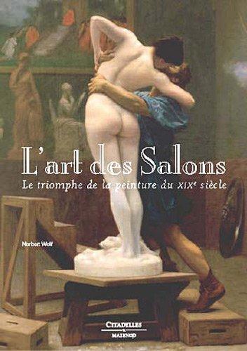 L'art des salons des peintures du XIX sicle