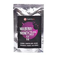 HealthifyMe Trail Mix Mulberry Munch Fruit and Nuts 120g (Pack of 4)