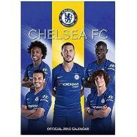 Offizielles Chelsea FC 2019 Fußball Kalender 420mm x 297mm (A3)