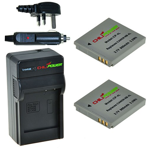 chilipower-canon-nb-4l-900mah-battery-2-pack-charger-uk-plug-for-canon-digital-ixus-30-40-50-55-60-6