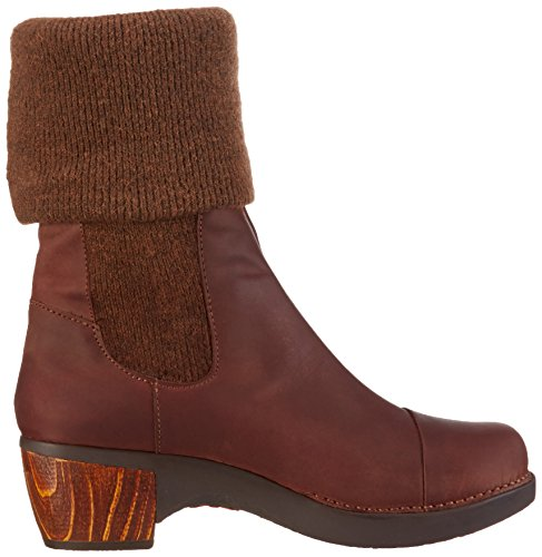 Braun Wool Damen Zundert Art Kurzschaft brown Stiefel gqXpTHcZp