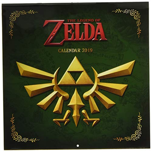 Legend of Zelda 2019 Square Nintendo Cal par Pyramid International