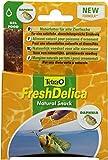 Tetra FreshDelica Daphnien Fischfutter (Naturfutter mit Wasserflöhen), 16 Einzelbeutel (48 g)