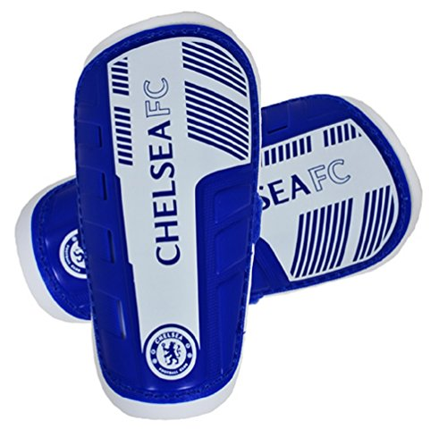 Official Football Merchandise Chelsea FC Slip In Shinpads (Youth)