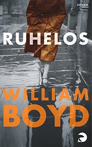 Buchseite und Rezensionen zu 'Ruhelos' von William Boyd