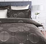 AmazonBasics - Juego de ropa de cama con funda de edredón, de...