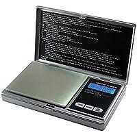Digital Bilancia M-200di DIPSE–bilancia digitale bilancia di precisione/tascabile fino a 200g in 0,01G passi, Acciaio INOX, argento, 200g x 0,01g