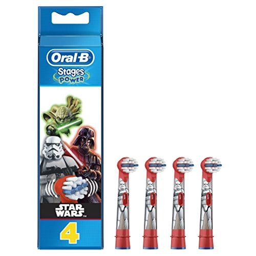 Oral-B Stages Power Star Wars - Cabezales para cepillo eléctrico