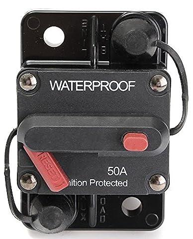 SaySure - Auto Waterproof 50-AMP Circuit Breaker Manual Reset