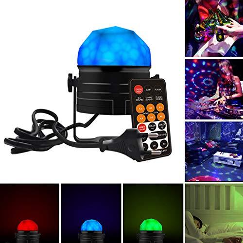 mit Fernbedienung Nachtlicht Sound Aktivierungslicht LED Crystal Strobe Light Bühnenlampen ()