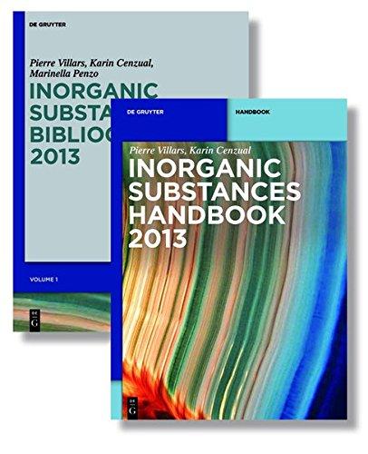 Inorganic Substances. 2013 (De Gruyter Reference)