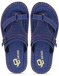 87f8dc98ab6847 Urbanwhiz Emosis Men Blue Navy Black Color Casual Daily Denim Unisex  Slipper and Flip-Flop