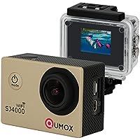 QUMOX WIFI Actioncam SJ4000 Action Sport Kamera Camera Waterproof Full HD 1080p Video Helmkamera Gold