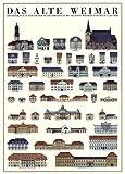 Weimar Das alte Weimar Poster Bild Kunstdruck 70x100cm