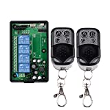 BWSS 220V 4CH RF Funkfernbedienung Radio Wireless Beleuchtung Schalter 433 MHz Empfänger Sender, AC 85 V 110 V 220 V 250 V