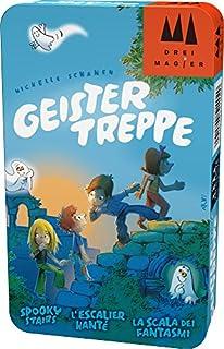 Hans im Glück Schmidt Spiele DREI Magier Spiele 51402 Geistertreppe, DREI Magier Reisespiel in der Metalldose, bunt (B01JA1XD0S) | Amazon Products