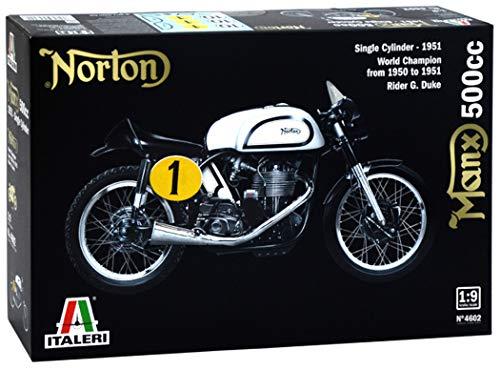 Italeri 4602 Motorcycle Model - Modelos de Juguetes (Motorcycle Model, 1:9, Negro, Blanco, Caja, 373 mm, 241 mm)