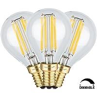TAMAYKIM G45 4W Dimmerabile Antico Edison Stile Filamento Lampadina LED