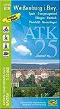 ATK25-I09 Weißenburg i.Bay. (Amtliche Topographische Karte 1:25000): Spalt, Georgensgmünd, Ellingen, Heideck, Pleinfeld, Nennslingen, Brombachsee (ATK25 Amtliche Topographische Karte 1:25000 Bayern)
