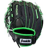Franklin Sports Molino Serie Ligero Guante de béisbol, 11Pulgadas, Unisex, Lime/Gray