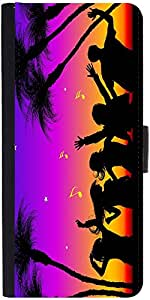 Snoogg Party Night Designer Protective Flip Case Cover For Sony Xperia Z1 Com...