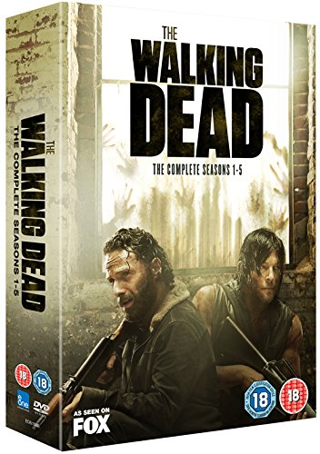 The Walking Dead - Staffel 1-5 [DVD] [Uk-Import] - Walking Dvds Dead Box-sets