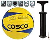 Cosco Spike Volley Ball, Size 4 and Cosco Hand Pump