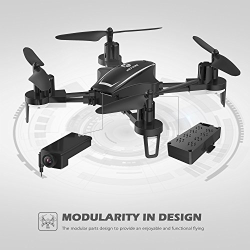 Holy Stone HS230 Drone RC FPV con 120 ° FOV 720P HD Droni Camera Live Video 45Km / h Quadcopter ad Alta velocità di Resistenza al Vento con Schermo LCD 5.8G Trasmettitore in Tempo Reale - 3