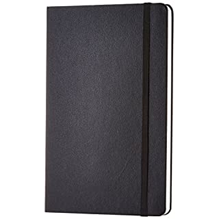 AmazonBasics Classic Notebook, Ruled 240 pages, Large (12.7x21cm)