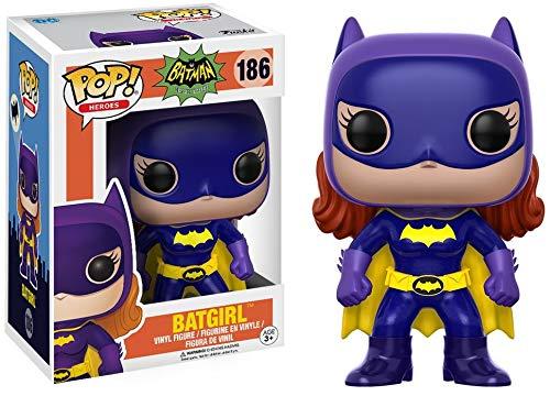 Kostüm Batgirl Neu - Funko 13632 POP Vinylfigur: Batman 66: Batgirl