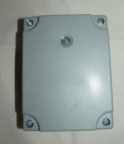 Bg Außenbereich Licht (BG Elektrische IP54Nachtbetrieb Outdoor Wetterfest Lichtsensor Timer Schalter)