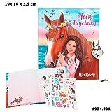 Miss Melody Tagebuch mit Stickern, Motiv 1, Pferd u. Mädchen Ovp*