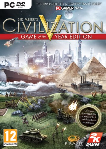 Civilization V - Game Of The Year Edition (PC DVD) [Edizione: Regno Unito]