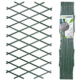 URBNLIVING Rankgitter Grün Kunststoff Wand klappbar Zaun, 2