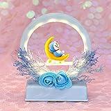Lampada da comodino Armeggiare blu-regalo dell'ornamento della decorazione della luce notturna dell'unicorno luci notturne soft Luce otturna