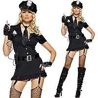 WEII Costumi Del Partito Di Halloween Costumi Della Polizia Uniformi Di  Ruolo Allettante Uniformi Della Polizia 820802567400
