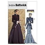 Butterick Schnittmuster 4954-Historische frühen 20. Jahrhunderts Kostüm