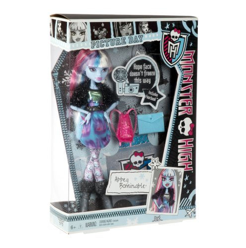 Monster High Y8494 Puppe Abbey Bominable (Abbey Bominable Haustier)